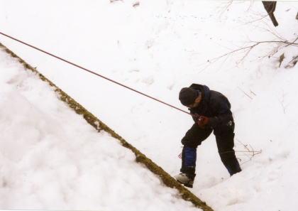三度目の山ノ神尾根 2003/12/31-1/2