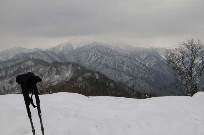 シーズンイン雪山 大辻山 2013/12/2