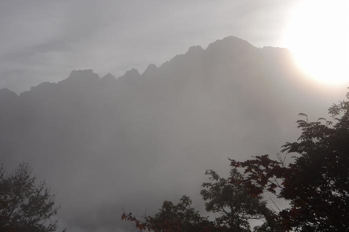 中山からクズバ山 2016/10/21