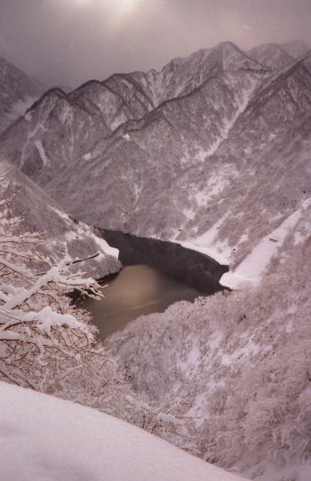 僧ヶ岳 2001/12/31-1/1
