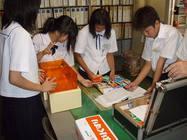 中学生の配置薬実習