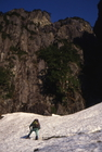 錫杖岳2・3間リッジ (1993/5/14)