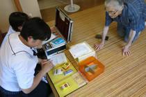 中学生の配置薬実習 2013/8/18