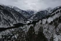 大熊谷 西山稜950まで 2013/12/19