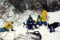大明神尾根 1992/12/29-1/1