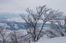 土倉山 剱の撮り収め 2017/12/31