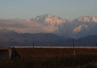 夕暮れの剱岳